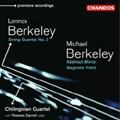 Lennox Berkeley String Quartet No. 2, Michael Berkeley Abstract Mirror & Magnetic Field album cover