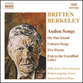 Britten/Berkeley: Auden songs album cover
