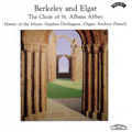 Berkeley and Elgar album cover