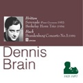 Dennis Brain: Britten, Berkeley & Bach album cover