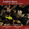 English Music for Oboe and Piano album cover