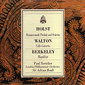 Holst, Walton, Berkeley album cover