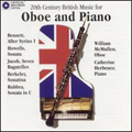 20th Century British Music for Oboe and Piano album cover