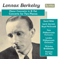 Lennox Berkeley: Piano Concerto in B flat, Concerto for Two Pianos album cover