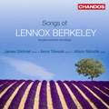 Songs of Lennox Berkeley album cover