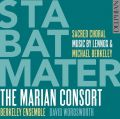 Stabat Mater: Sacred Choral Music by Lennox & Michael Berkeley album cover