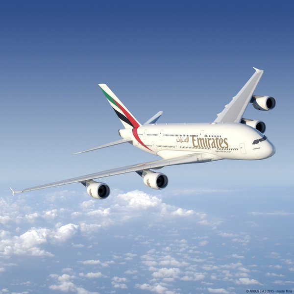 Emirates Airlines aircraft