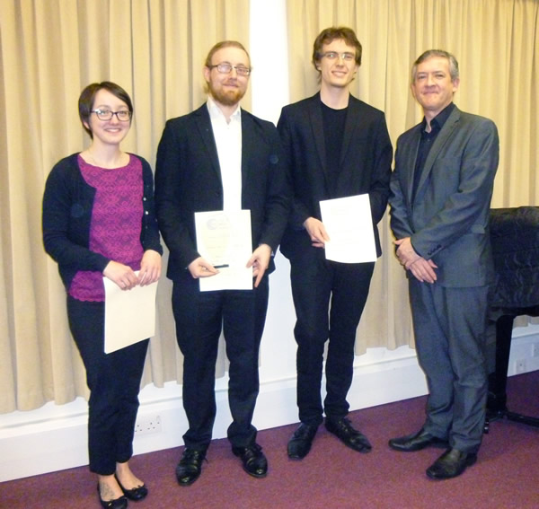 Lennox Berkeley Society Award for Guitar 2017 entrants