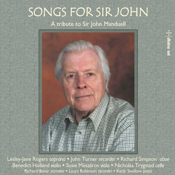 Songs for Sir John CD cover