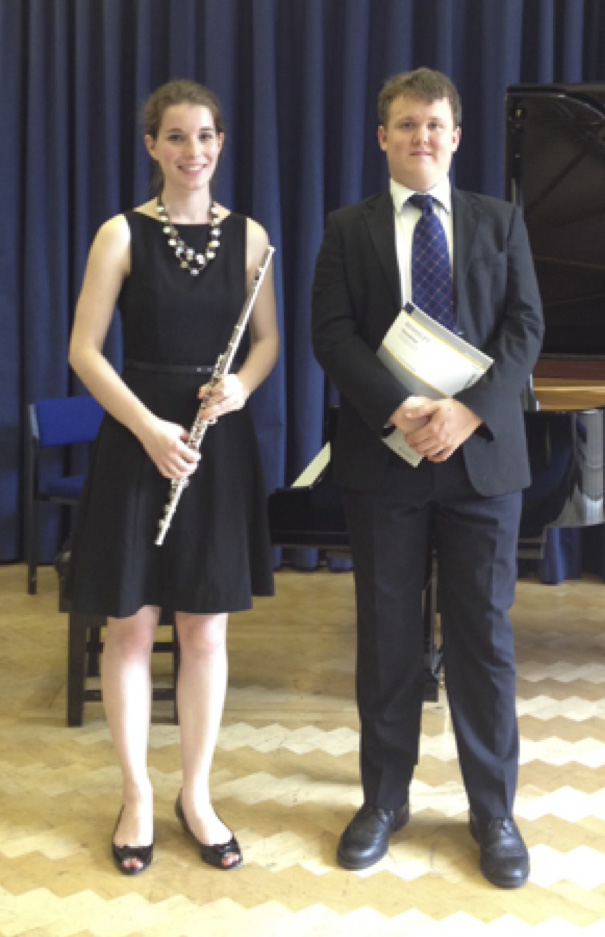 Luce Zurita and Freddie Bager playing LB Sonatina June 2014