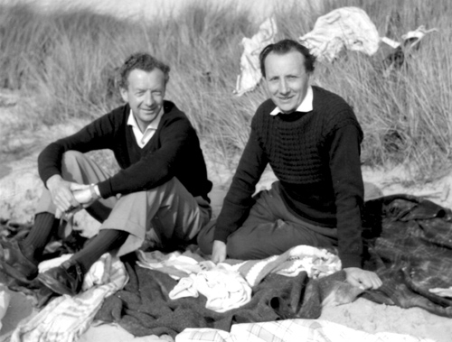 Lennox Berkeley and Benjamin Britten, Blakeney Point, 1961